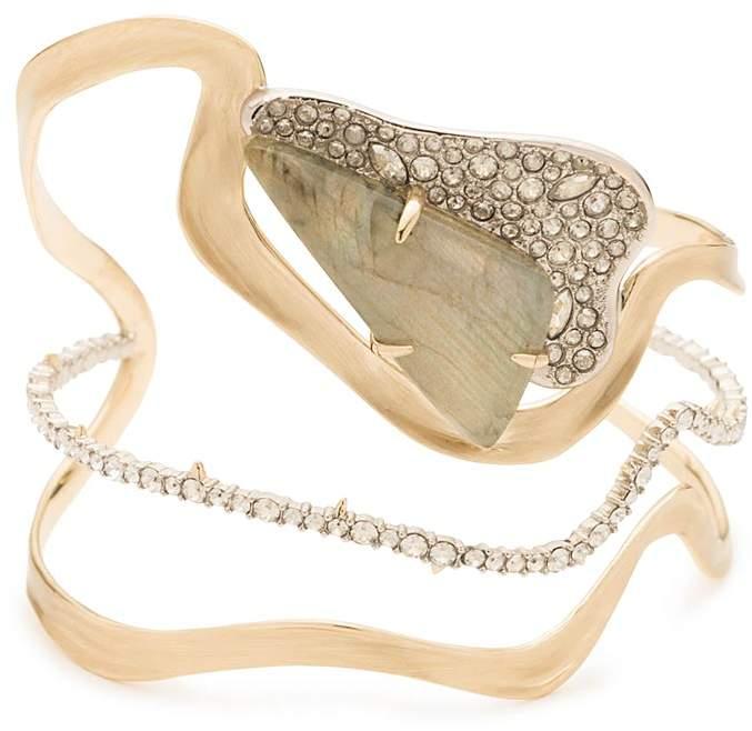 Alexis Bittar Crystal Embellished Cuff Bracelet