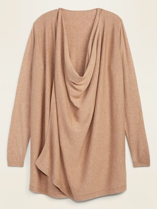 Old Navy Maternity Extra-Long Nursing Open-Front Sweater