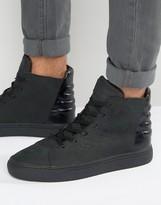 Religion Croc Hi Top Sneakers