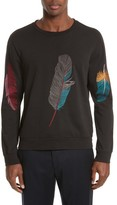 Paul Smith Men's Feather Embroidered Sweatshirt