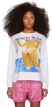 Ashley Williams White Beach Bum T-Shirt