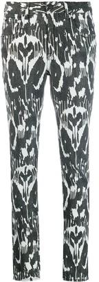 Etoile Isabel Marant Ikat Pattern Trousers