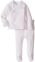 Ralph Lauren Printed Interlock Kimono Two-Piece Pants Set (Infant)