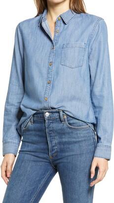 Caslon Easy Button-Up Shirt