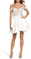 Sean Collection Women's Embellished Off The Shoulder Fit & Flare Dress