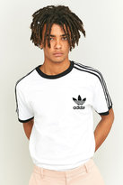 adidas Originals California 3-Stripe White T-shirt
