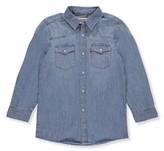 Levi's Boys Denim Barstow Western Button Down Shirt, Sizes 8-20