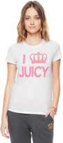 Juicy Couture Outlet - JUICY CROWN GRAPHIC TEE