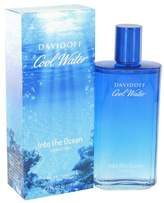 Davidoff Cool Water Into The Ocean by Eau De Toilette Spray 4.2 oz