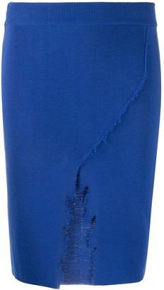 Antonella Rizza Emily distressed-effect skirt