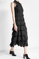 RED Valentino Tiered Dress with Point d'esprit