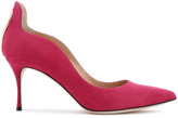 Thumbnail for your product : Sergio Rossi Cutout Suede Pumps