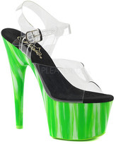 Pleaser USA Women's Adore 708UVP Ankle-Strap Platform Sandal
