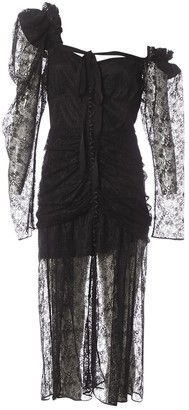 Magda Butrym Black Lace Dresses