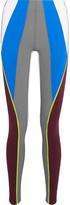 NO KA 'OI No Ka'Oi - Kimi Color-block Stretch-jersey Leggings - Gray