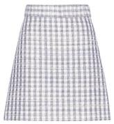 Miu Miu Wool-blend Tweed Skirt