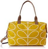 Orla Kiely Giant Linear Stem Zip Holdall Carry On Bag