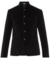 Massimo Alba Velvet single-breasted blazer