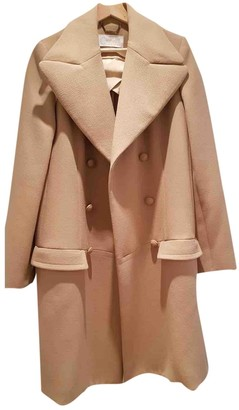 Chloé Camel Wool Coat for Women