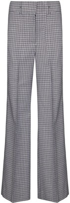 Givenchy Houndstooth-Pattern Wool Trousers