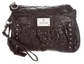 Frye Leather Wristlet Clutch