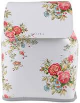 Grafea Fey Blossom Leather Rucksack White