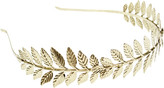 Riviera Metal Leaf Headband
