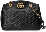 Gucci GG Marmont matelassé tote - women - Leather/metal/Microfibre - One Size