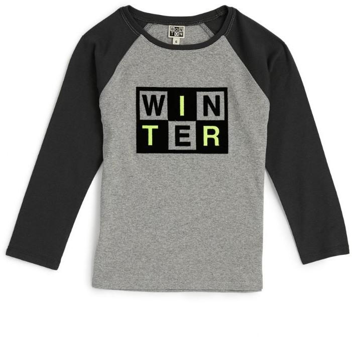 Bonton Graphic Long-SleevedT-Shirt (4-12 Years)