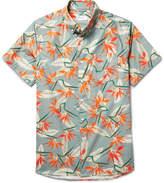 Saturdays NYC - Esquina Button-Down Collar Cotton-Poplin Shirt
