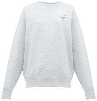 Raey X Cressida Jamieson Hope Sweatshirt - Womens - Grey