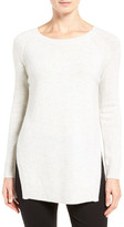 Nordstrom Side Slit Cashmere Sweater