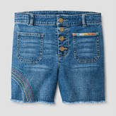art class Girls' High-Waist Denim Shorts