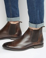 Base London Boxley Leather Chelsea Boots