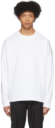 MONCLER GENIUS 2 Moncler 1952 White Logo Patch Long Sleeve T-Shirt