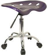 Flash Furniture LF-214A-GG Vibrant Tractor Seat and Chrome Stool