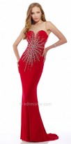 Nika Ava Crystal Evening Dress
