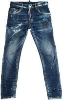 DSQUARED2 Skinny Distressed Stretch Denim Jeans