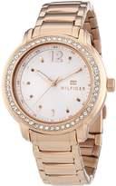 Tommy Hilfiger Women's 1781468 Rose Stainless-Steel Analog Quartz Watch