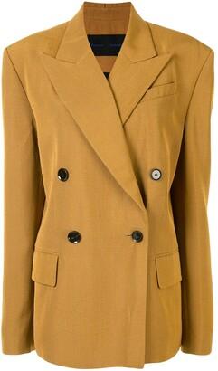 Proenza Schouler Split Collar Suiting Jacket