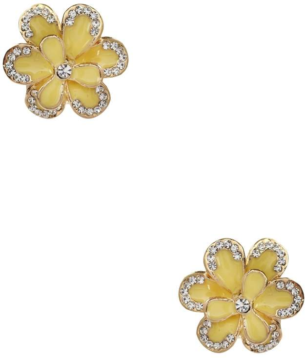 Amrita Singh Women's Jessy Enamel Floral Stud Earrings