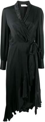 Zimmermann V-neck wrap dress