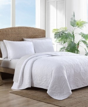 Tommy Bahama Solid Costa Sera Twin Quilt