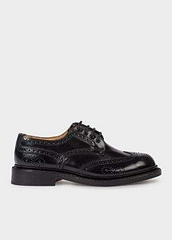 Trickers For Paul Smith - Black Leather 'Anne' Brogues