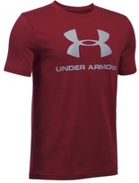 Under Armour Boys' UA Sportstyle Logo T-Shirt