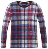 Tommy Hilfiger TH Kids Check Sweater