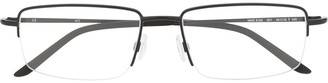 Nike Rectangular Frames Glasses