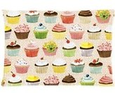 20x30 inch Pillowcase Cute Cupcakes Pillowcase - Pillowcase with Zipper, Pillow Protector, Best Pillow Cover - Standard Size inches, One-sided Print