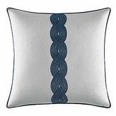 Nautica Cape Coral Embroidered Square Pillow