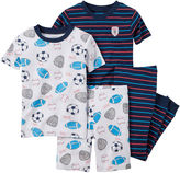 Carter's 4-pc. Sports Pajama Set - Toddler Boys 2t-5t